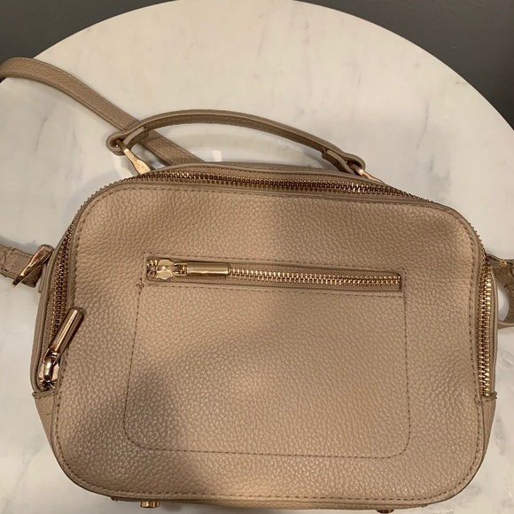 a new day Handbags - anewday beige crossbody bag